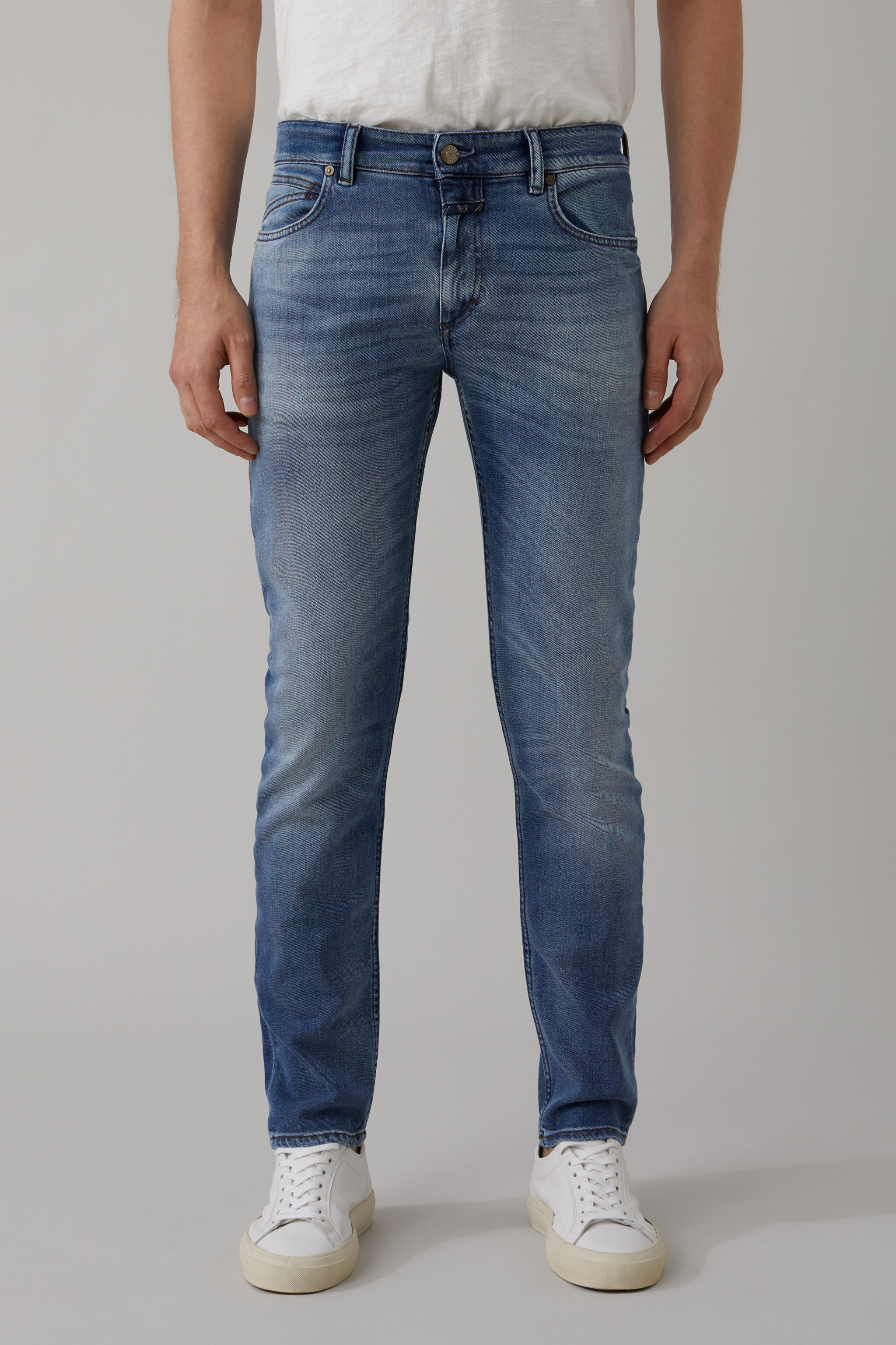 Herren CLOSED Prep Skinny Indigo Denim | 4054736648674