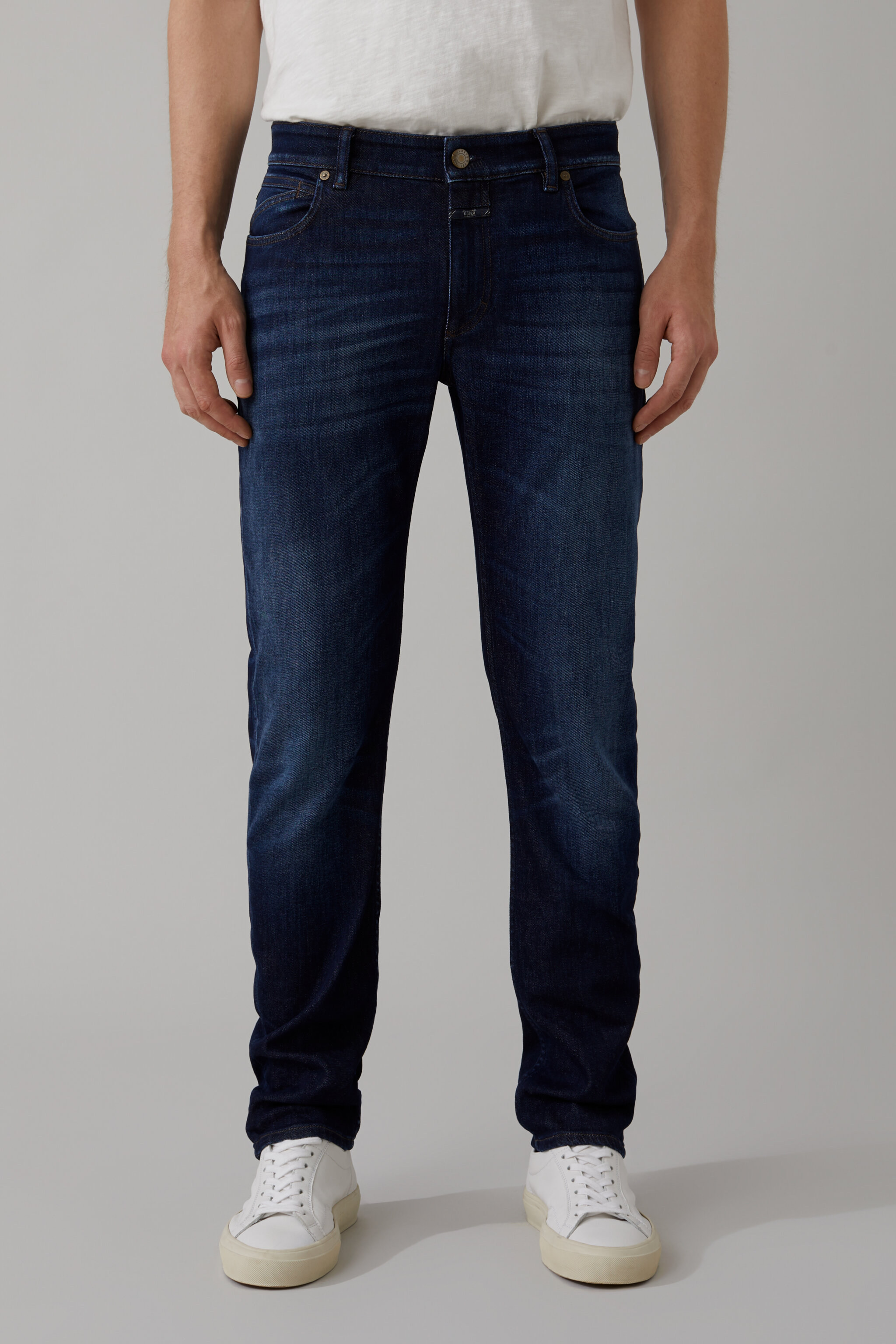 Herren CLOSED Unity Slim Indigo Denim | 4054736354025