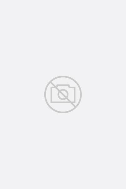Hemd mit Stehkragen aus Melange-Oxford