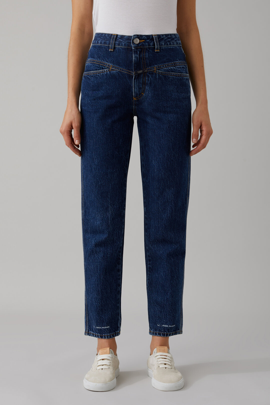 Pedal Pusher Indigo Denim