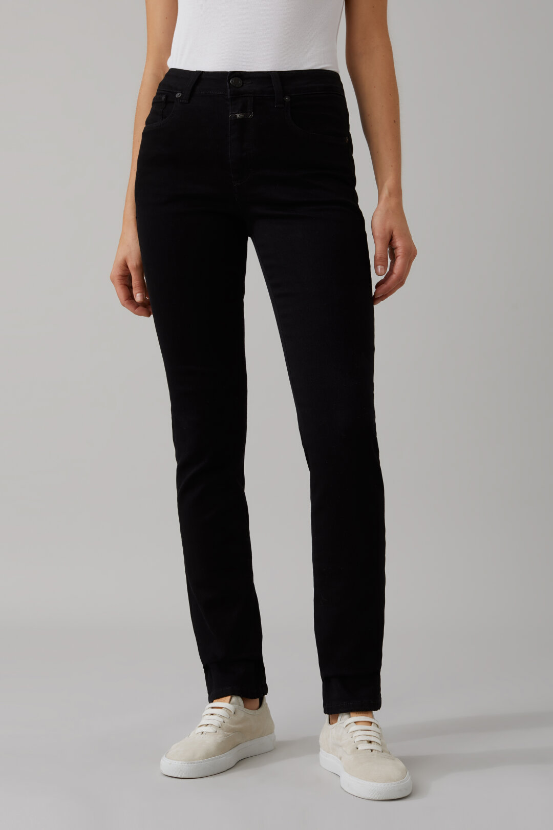 Britney Black Stretch Denim