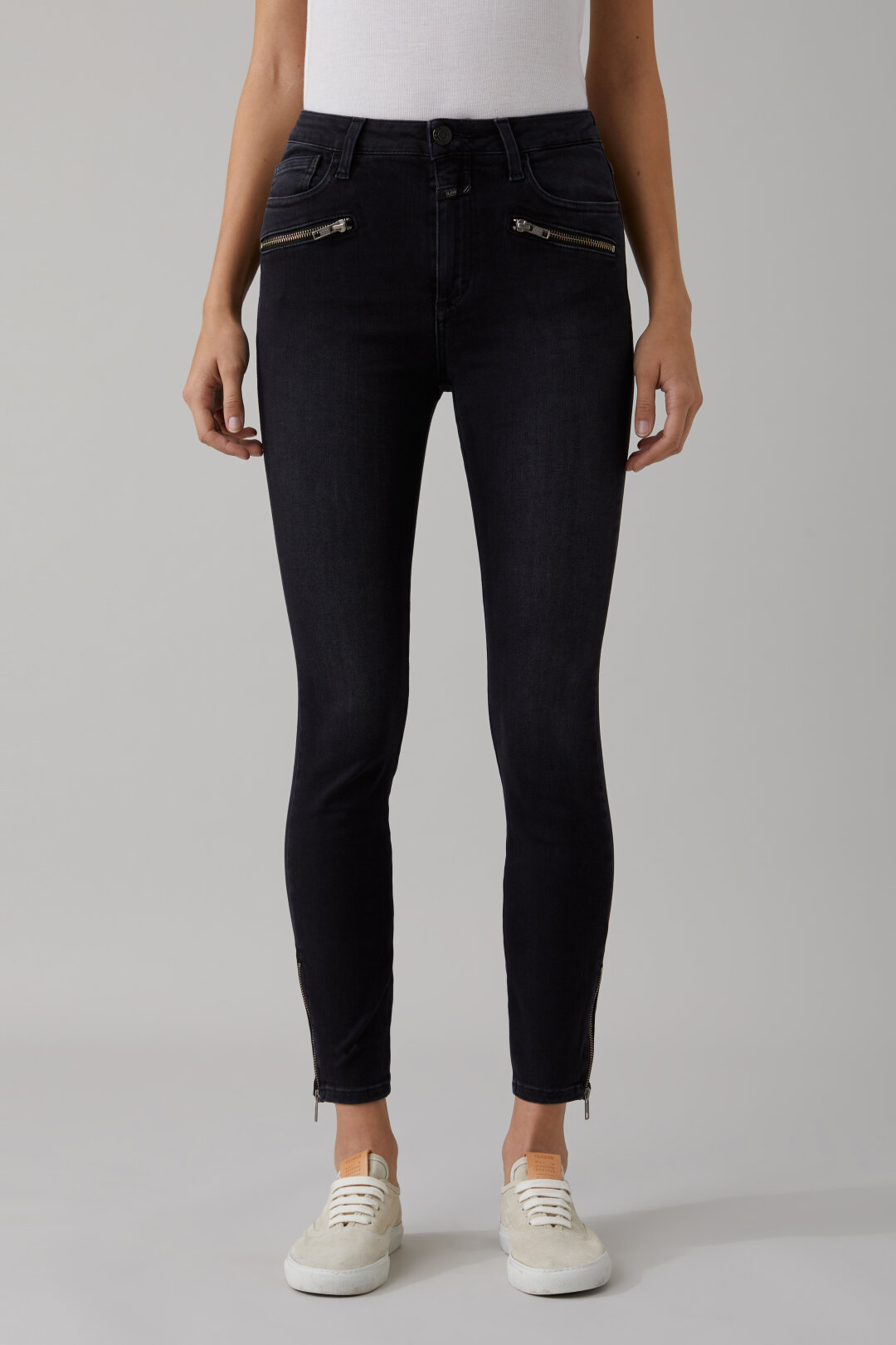 Aimie Black Power Stretch Denim