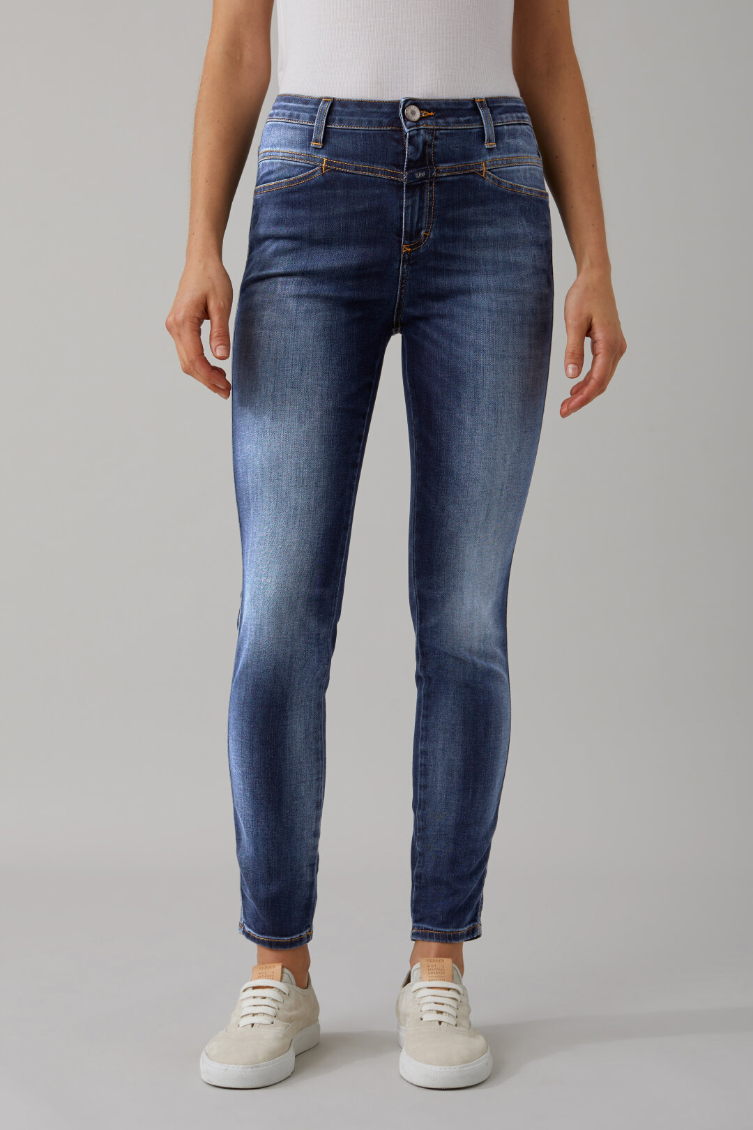 Skinny Pusher Blue Shaper Denim