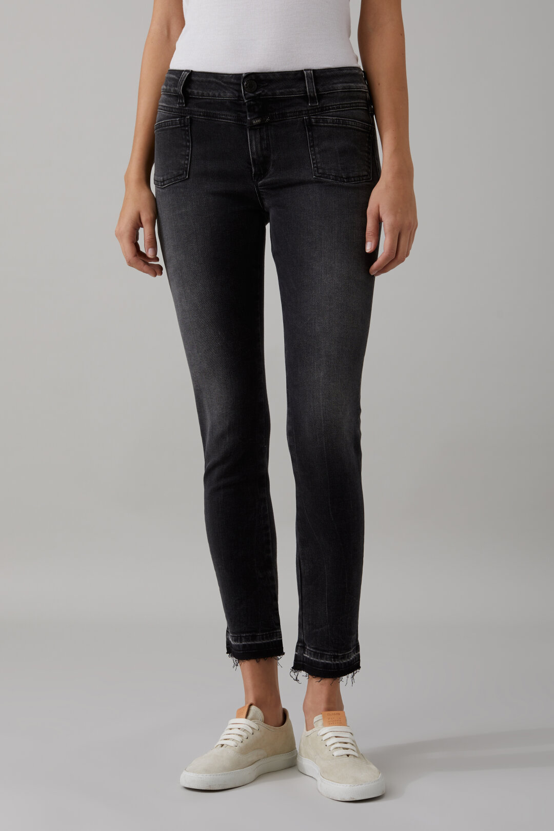 Pedal-X Black Stretch Denim