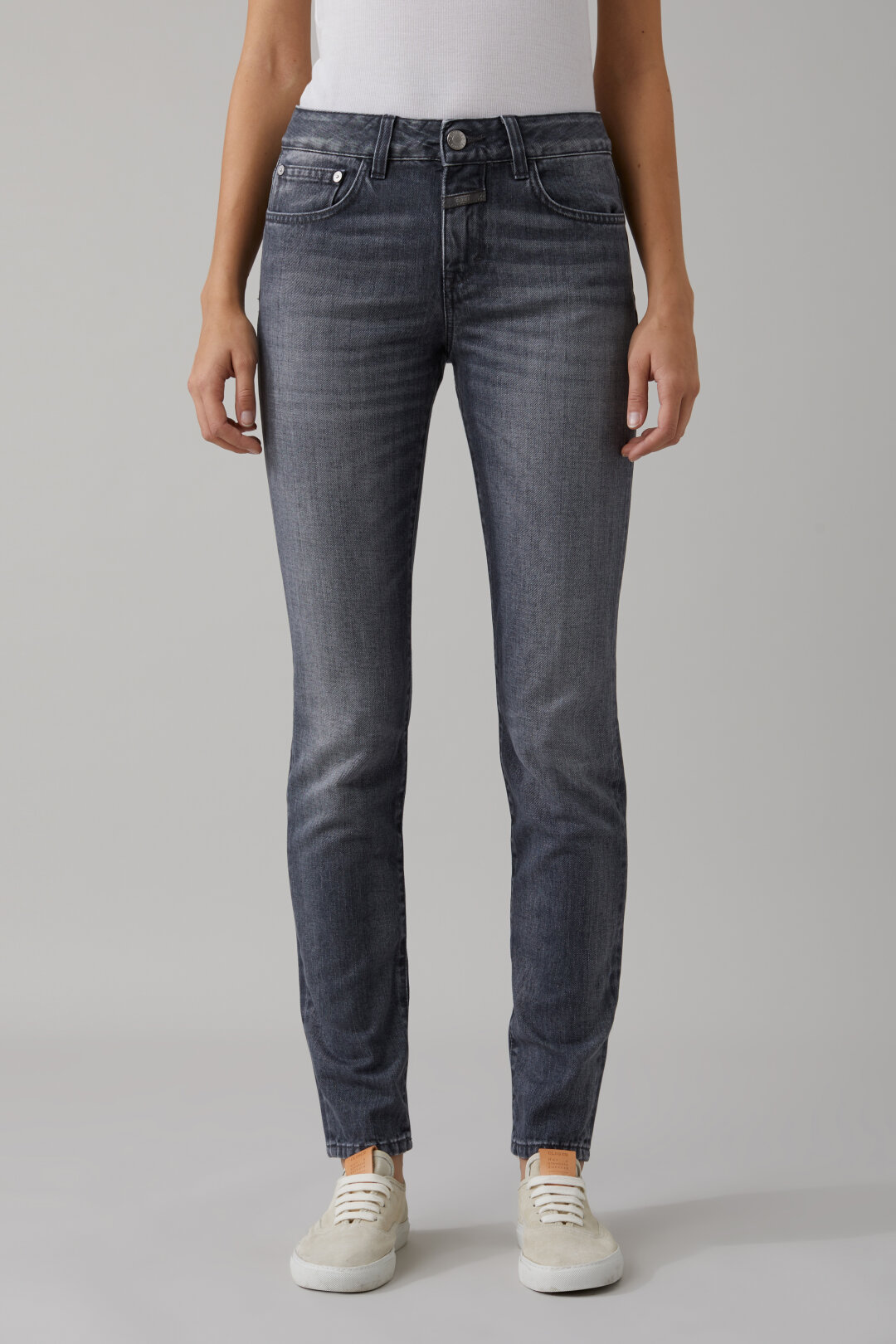 Baker Long Soft Grey Denim