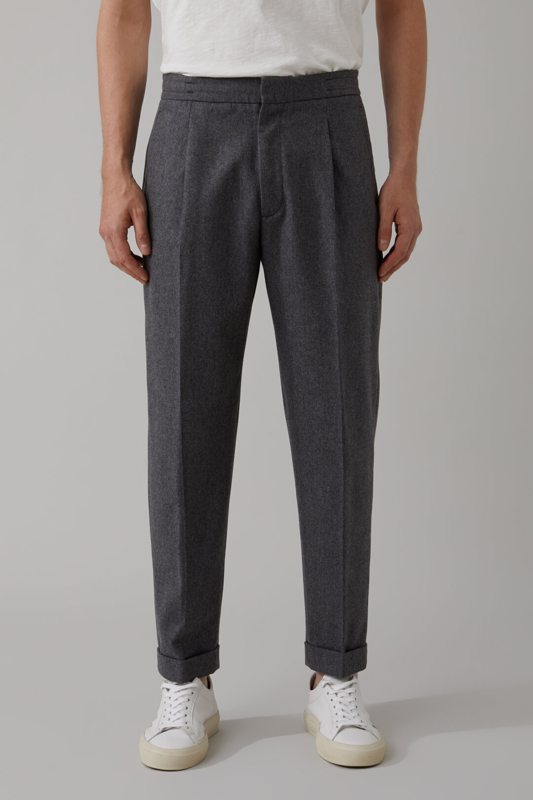 Lexington Relaxed Wool Pants