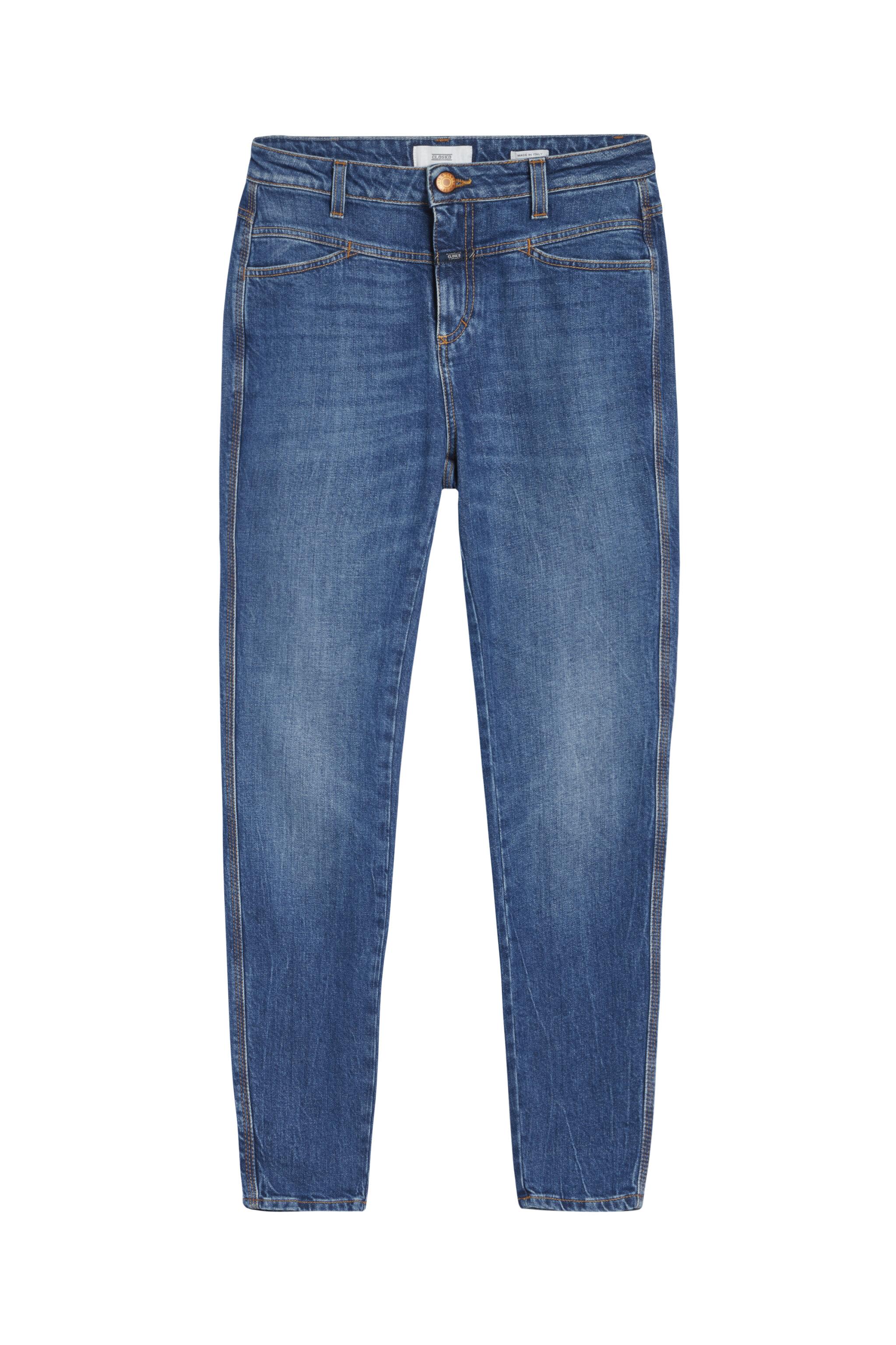 - Damen CLOSED Skinny Pusher Authentic Blue Stretch Denim | 4054736691465